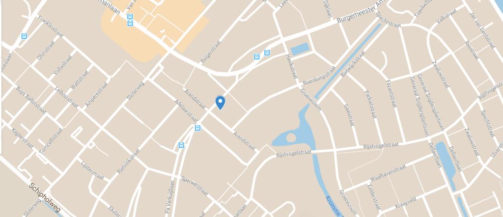 GoogleMap Pa Verkuijllaan 16