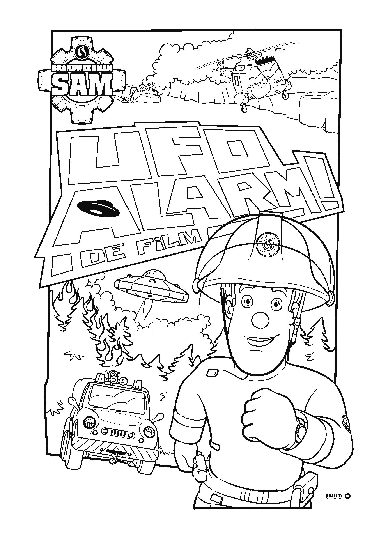 Brandweerman Sam UFO alarm