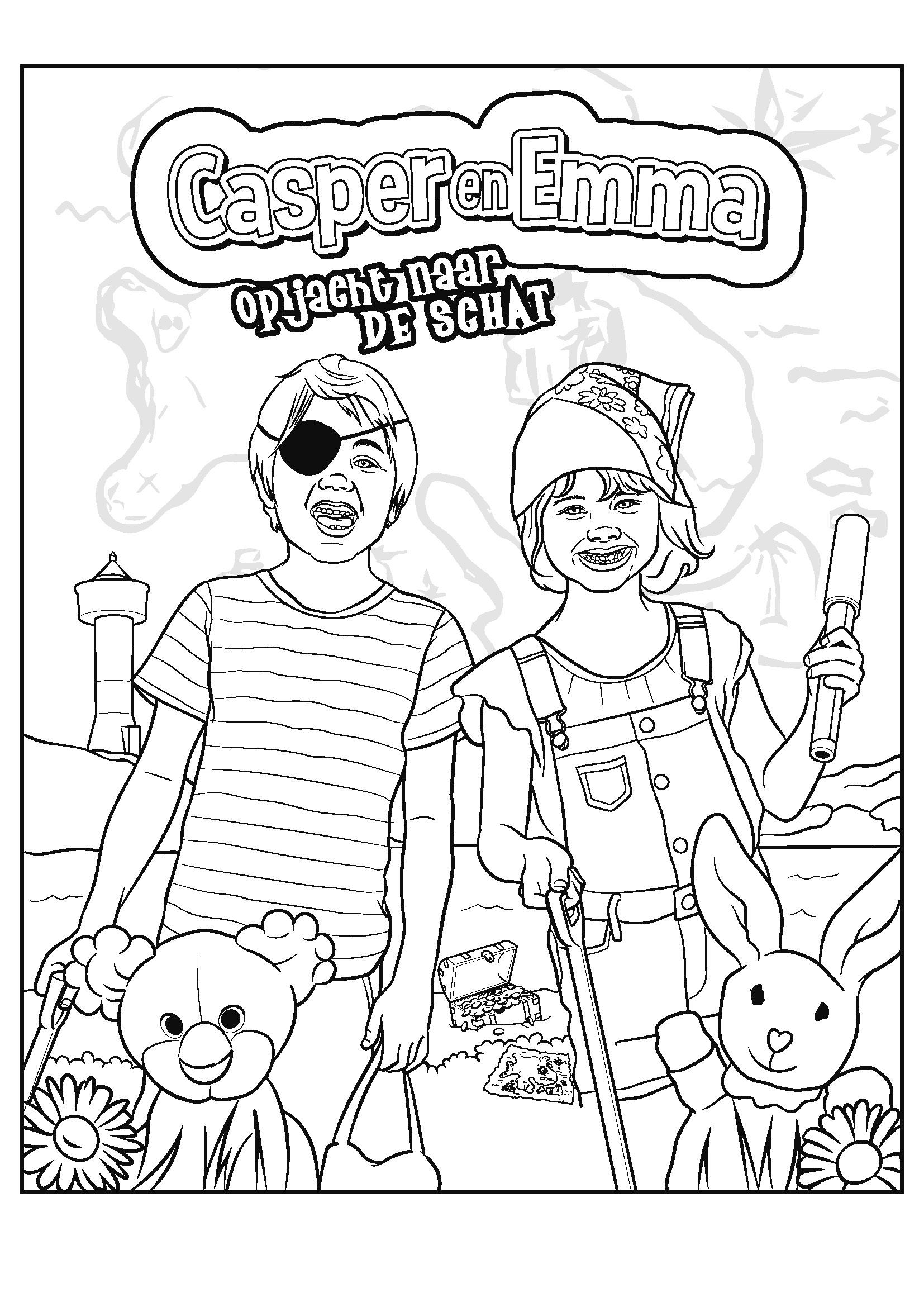 Casper & Emma op zoek naar De Schat