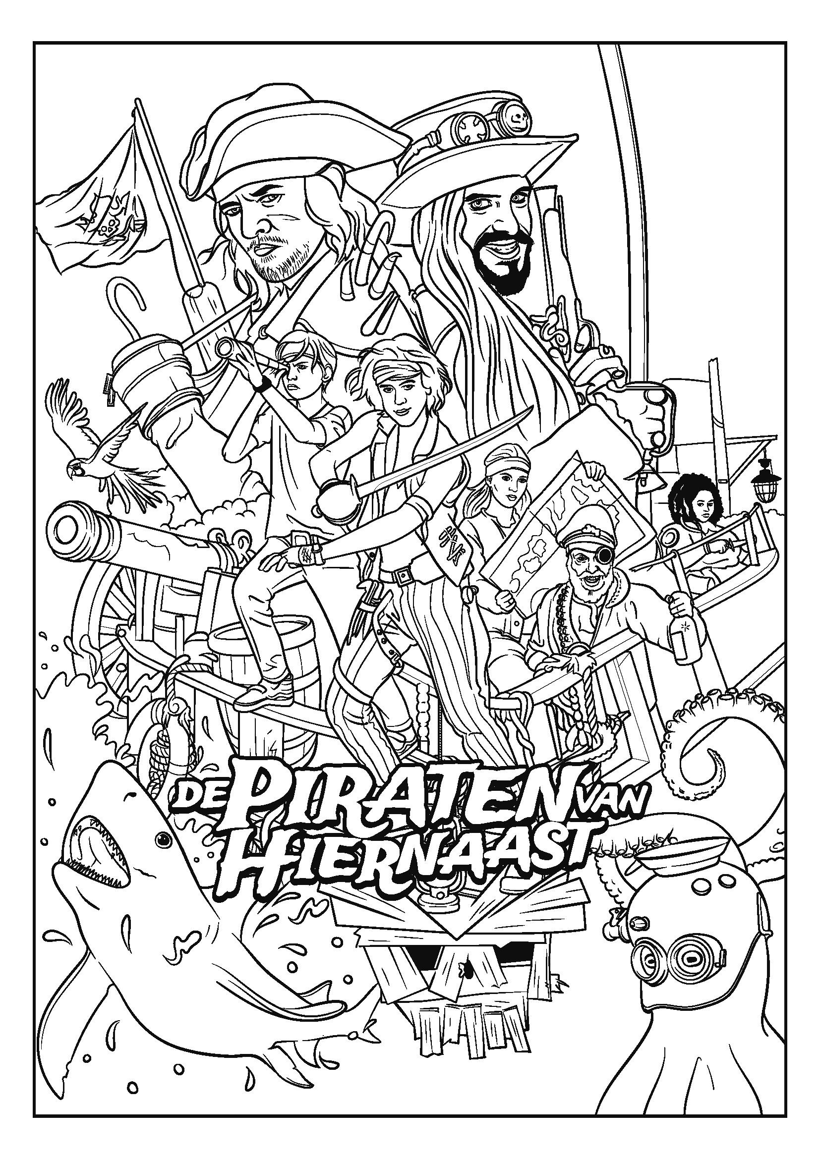 Piraten Van Hiernaast